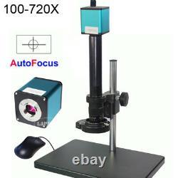 100X-720X Autofocus 1080P HDMI Industrial Digital Microscope Camera Sony IMX290