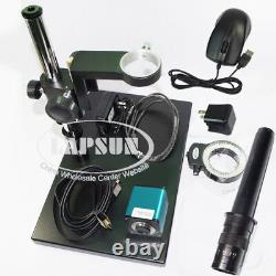 100X-720X Lens 1080P 60FPS HDMI Industrial Digital Microscope Camera Sony IMX290