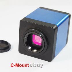 100X HDMI 1080P HD Digital Lab Industrial C-mount Microscope Camera System A30
