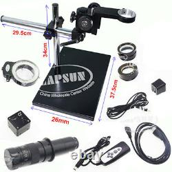 1080P 60FPS 360X HDMI Video Digital Industrial Microscope Camera Universal Stand