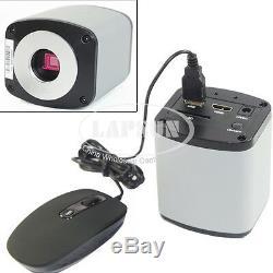 1080P HDMI & HD 5MP USB Digital Lab Industrial C-mount Microscope Digital Camera