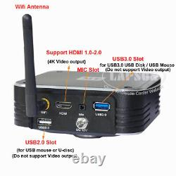 120Gb 4K UHD HDMI USB 3.0 WiFi IP Web Digital Microscope Video Camera C mount