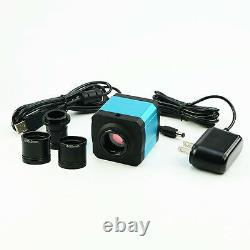 14MP HDMI Microscope Camera USB Digital Electronic Eyepiece with C-Mount Adapter