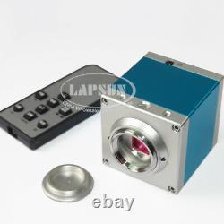 14MP HDMI USB 720P HD Lab Industrial C-mount Microscope Digital Camera Recorder