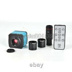 14MP Microscope Camera HDMI USB Digital Eyepiece with 0.5X C-mount Lens sz1898