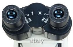 1600X Brightfield&Turret Phase Contrast Compound Microscope+1.3MP Digital Camera