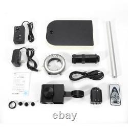 16MP 1080P 60FPS HDMI 180X Industrial Video Microscope Digital Camera & Stand UK