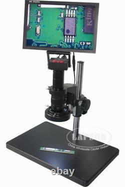 16MP 1080P 60FPS HDMI 180X Lens Digital Microscope Camera + 10 HD LCD Monitor