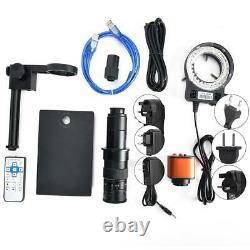 16MP 1080P 60FPS HDMI USB 180X Industrial Video Microscope Digital Camera