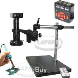 16MP 1080P 60FPS HDMI USB FHD Industrial C Microscope Digital Camera PCB Repair