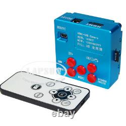 16MP 1080P 60FPS HDMI USB Industrial Microscope Digital Camera Wireless Control