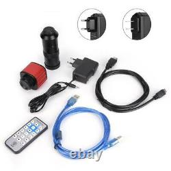 16MP 1080P HDMI HD Video USB Industrial Microscope Digital Camera with 100X Lens
