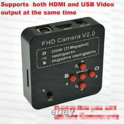 16MP/21MP/48MP 1080P 60FPS HDMI USB Industrial Microscope Digital Camera