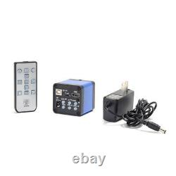 16MP HDMI USB Digital Industry Video C-mount Microscope Camera+180X C-mount Lens