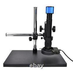 16MP HDMI USB Industrial Microscope Digital Camera + 0.7-4.5X Zoom Lens+ Bracket