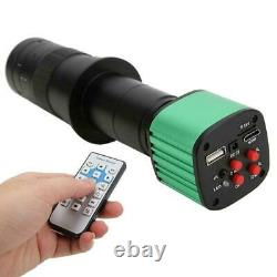 16MP USB Industrial Video Microscope Camera with 180X C-Mount Lens 4X Digital Zoom
