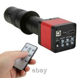 180X 48MP USB2.0 Industrial Digital Microscope Camera + Zoom C/CS Mount Lens