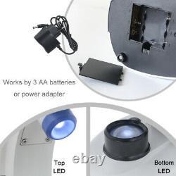 2000X Binocular Biological Microscope USB Camera Digital Microscope with LED Light