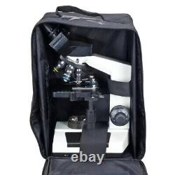 2000X Digital Compound LED Microscope+Built-in 3.0MP Camera+Vinyl Carrying Case