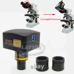20MP 1 Sony IMX183 USB 3.0 Biological Video Microscope Camera CCD + Relay Lens