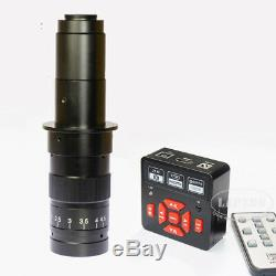 21MP 1080P 60FPS HDMI USB FHD Industrial C-Mount Microscope Digital Camera LCD