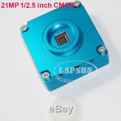 21MP 1080P 60FPS HDMI USB Industrial Microscope Digital Camera +Wireless Control
