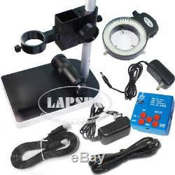21MP 1080P 60FPS HDMI USB Industrial Microscope Digital Camera with 100X Zoom Lens
