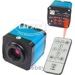 250X-2500X Biological Student Lab 14MP HDMI USB HD Eyepiece Microscope Camera