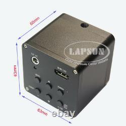 2K QHD HDMI 1080P@60fps FHD Industrial Microscope Digital Video Camera C mount