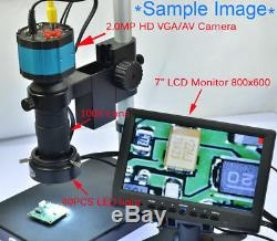 2in1 Industry 2MP Digital Microscope Camera & 7'' Screen Monitor with Base Stand