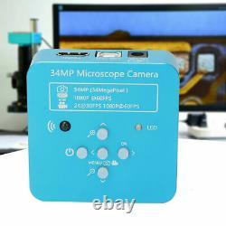 34MP HDMI USB HD 1080P Video Digital Zoom Industrial Microscope Camera Recorder