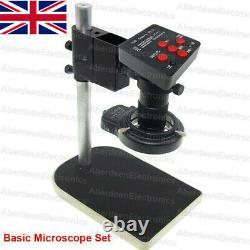 38/48MP 1080P HDMI USB Digital Industry Video Microscope Camera C-mount Lens, UK