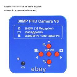 38MP HDMI USB HD 1080P Video Digital Zoom Industrial Microscope Camera Recorder