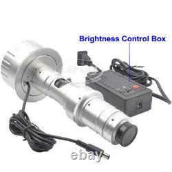 3D C-Mount 20X-180X Lens HDMI Sony IMX290 Industry Microscope Camera Set SMT SMD