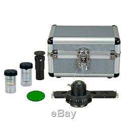 3MP Digital Camera Biological Brightfield & Phase Contrast Compound Microscope