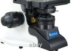 40-2000X Darkfield Brightfield Kohler 3W LED Microscope+9.0MP Digital USB Camera