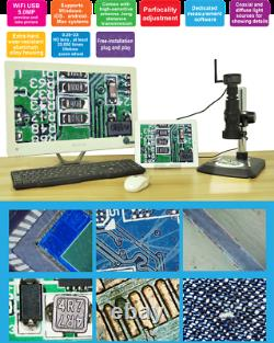 400X Measuring Digital Microscope, Self-Broadcast Wifi, Large Aperture Lens