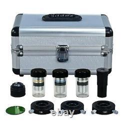 40X-1000X Phase Contrast Binocular Laboratory Compound 1.3MP Digital Microscope