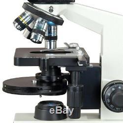 40X-2000X Phase Contrast Trinocular LED Compound Microscope+14MP Digital Camera