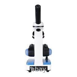 40X-400X Glass Optics Student Compound Microscope + USB Digital Camera