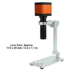 48MP HD Digital Zoom Industry Video Microscope Camera Set Kit C-mount Lens