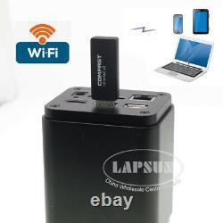 4K 8MP HDMI SONY IMX334 IMX485 60FPS Industry Microscope Camera USB 3.0 WIFI GE