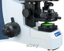 5.0MP Digital Siedentopf LED Binocular Microscope 40X-2000X Reversed Nosepiece