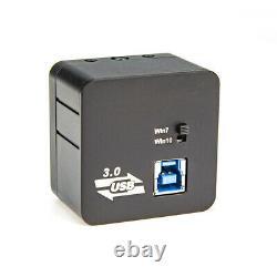 5.0MP USB3.0 Digital Microscope Camera CMOS Calibrator Industry Eyepiece C-Mount