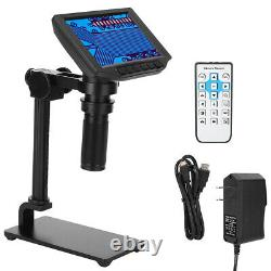 5Inch 24MP 60FPS HDMI USB Industrial Digital Camera 150X Microscope CType Lens