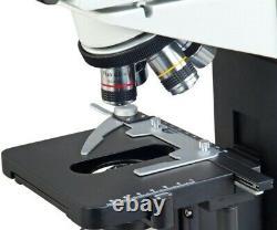 5MP Digital Siedentopf Compound Binocular Microscope 40X-1600X w PLAN Objectives