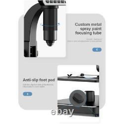 7'' Screen Digital Soldering Microscope Cam For Repair Continuous Amplification