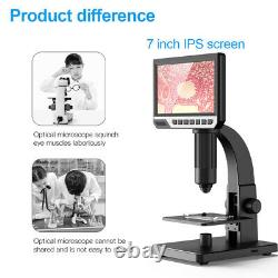 7 USB HD 2000X Digital Microscope Camera For Soldering Continuous Amplification