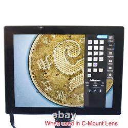 9.7 IPS Touch Screen Android Pad with C-mount 5.0MP Digital Microscope Camera
