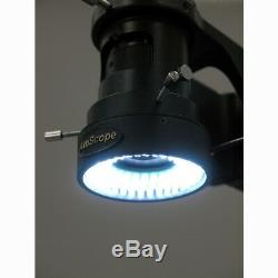 AmScope 11-80X Single Zoom Inspection Microscope 9MP USB Digital Camera MultiUse